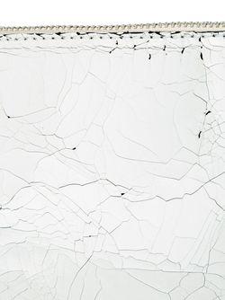 Сумка Через Плечо С Эффектом Потрескавшейся Кожи MM6 by Maison Margiela                                                                                                              белый цвет