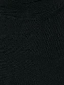 Пуловер С Высокой Горловиной MM6 by Maison Margiela                                                                                                              чёрный цвет