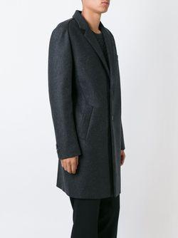 Классическое Однобортное Пальто Wooyoungmi                                                                                                              серый цвет