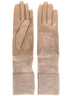 Перчатки С Трикотажными Манжетами Gala                                                                                                              Nude & Neutrals цвет