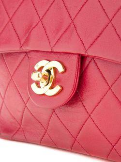 Небольшая Сумка-Конверт Chanel Vintage                                                                                                              красный цвет