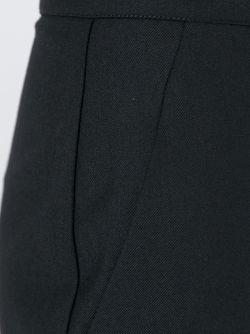 Расклешенные Укороченные Брюки Erika Cavallini                                                                                                              чёрный цвет