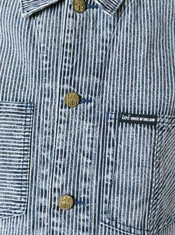 Джинсовая Куртка Hoh X Lee Collaboration House Of Holland                                                                                                              синий цвет