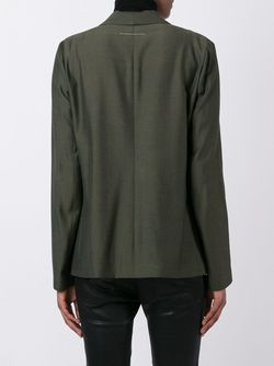 Блейзер С Лацканами-Шалька MM6 by Maison Margiela                                                                                                              зелёный цвет