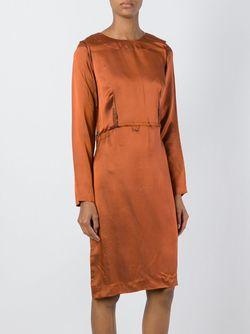 Платье Inside Out Maison Margiela                                                                                                              коричневый цвет