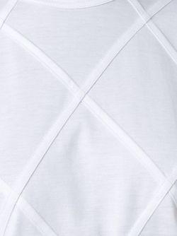 Футболка С Ромбовидным Рисунком JUNYA WATANABE COMME DES GARCONS                                                                                                              белый цвет