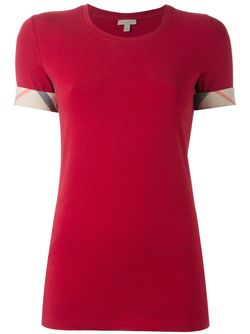 Футболка Brit Burberry                                                                                                              красный цвет