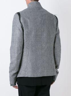 Slashed Pocket Jacket Lost & Found Ria Dunn                                                                                                              серый цвет