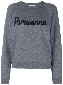 Толстовка Parisienne Maison Kitsune                                                                                                              серый цвет