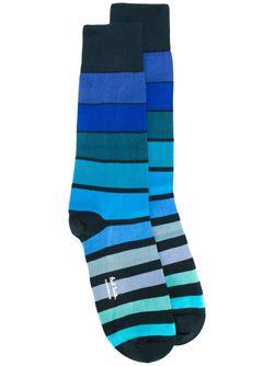 Носки В Полоску Paul Smith                                                                                                              синий цвет