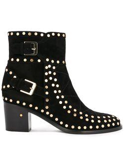 Ботинки Gatsby Split Calf Laurence Dacade                                                                                                              чёрный цвет