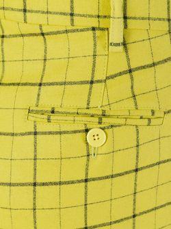 Брюки В Клетку Etro                                                                                                              желтый цвет