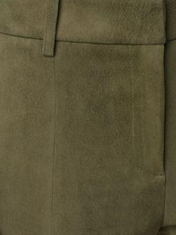 Укороченные Брюки-Клеш Tibi                                                                                                              зелёный цвет