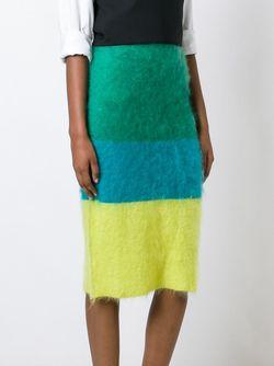 Юбка Колор-Блок Ports                                                                                                              зелёный цвет