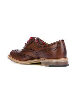 Туфли Оксфорды JUNYA WATANABE COMME DES GARCONS                                                                                                              коричневый цвет