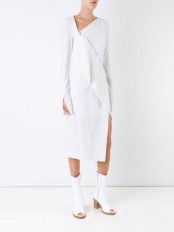 Платье Ying Yang KITX                                                                                                              белый цвет