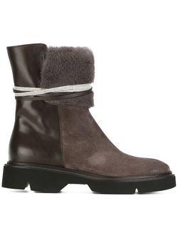 Ботинки С Завязками Fabiana Filippi                                                                                                              коричневый цвет