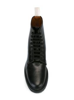 Ботинки В Стиле Милитари Common Projects                                                                                                              черный цвет