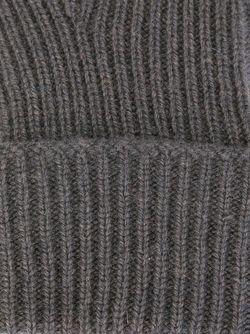 Перчатки Ребристой Вязки Ladies N.PEAL                                                                                                              серый цвет