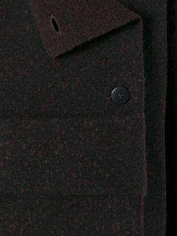 Жакет Свободного Кроя С Потайной Застежкой Boboutic                                                                                                              коричневый цвет