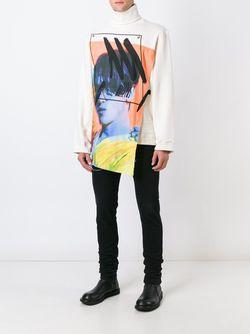 Printed Patch Sweatshirt Alex Mullins                                                                                                              Nude & Neutrals цвет