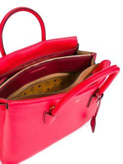 Большая Сумка-Тоут Milla MCM                                                                                                              красный цвет