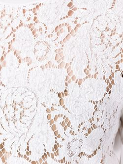 Кружевная Кофта Erika Cavallini                                                                                                              белый цвет