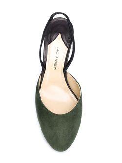 Туфли С Ремешком На Пятке Paul Andrew                                                                                                              зелёный цвет