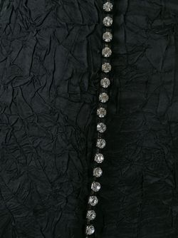 Декорированная Юбка-Миди No21                                                                                                              черный цвет