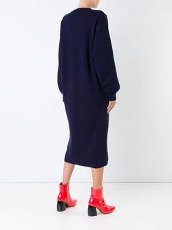 Платье-Свитер Nami G.V.G.V.                                                                                                              синий цвет