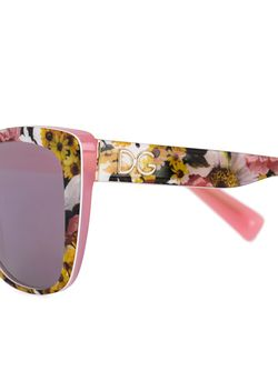 Cat Eye Frame Sunglasses Dolce & Gabbana                                                                                                              многоцветный цвет