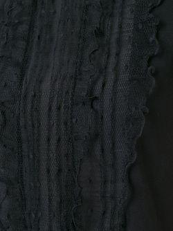 Футболка С Рюшами Red Valentino                                                                                                              чёрный цвет