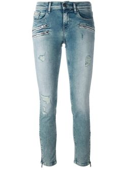 Джинсы Кроя Скинни Calvin Klein Jeans                                                                                                              синий цвет