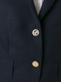 Блейзер С Укороченными Рукавами Thom Browne                                                                                                              синий цвет