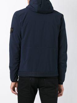 Куртка В Военном Стиле Soft Shell-R Stone Island                                                                                                              синий цвет
