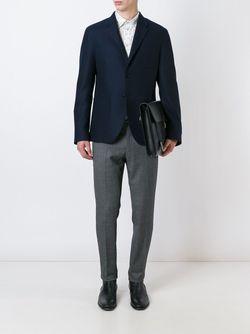 Брюки С Контрастной Окантовкой Dolce & Gabbana                                                                                                              серый цвет