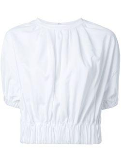 Gather Puff Jersey LE CIEL BLEU                                                                                                              белый цвет