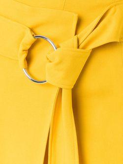 Юбка С Запахом Georgette LE CIEL BLEU                                                                                                              желтый цвет