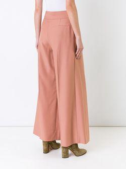 Плиссированные Брюки Палаццо Irene                                                                                                              розовый цвет
