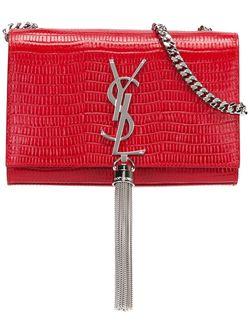 Маленькая Сумка На Плечо Kate Monogram Saint Laurent                                                                                                              красный цвет