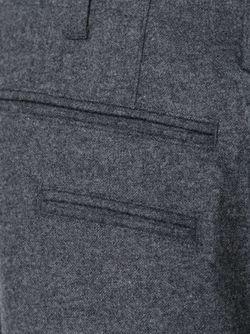 Укороченные Широкие Брюки YMC                                                                                                              серый цвет