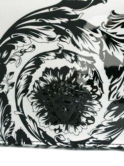 Лакированный Клатч Palazzo Medusa Versace                                                                                                              белый цвет