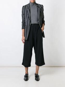 Cropped Wide Leg Trousers YOHJI YAMAMOTO VINTAGE                                                                                                              черный цвет