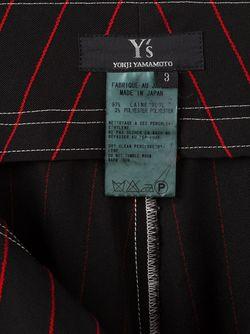 Striped Culottes YOHJI YAMAMOTO VINTAGE                                                                                                              черный цвет