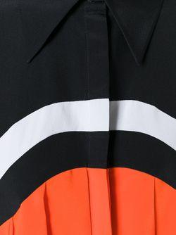 Плиссированная Рубашка Victoria, Victoria Beckham                                                                                                              чёрный цвет
