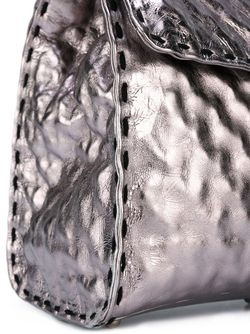 Фактурная Сумка-Тоут Ermanno Scervino                                                                                                              серебристый цвет