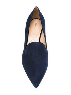 Лоферы Casati С Жемчужным Украшением Nicholas Kirkwood                                                                                                              синий цвет