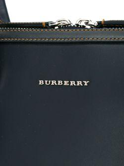 Портфель В Клетку Burberry Runway                                                                                                              синий цвет