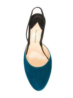 Туфли С Ремешком На Пятке Paul Andrew                                                                                                              синий цвет