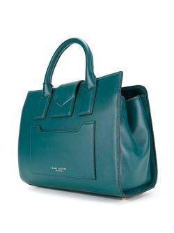 Маленькая Сумка-Тоут West End Marc Jacobs                                                                                                              зелёный цвет